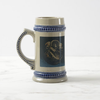 Stein modelado japonés jarra de cerveza