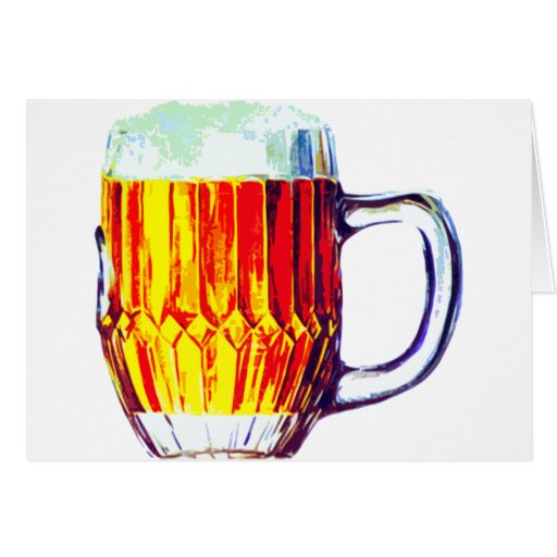 Stein of Ale Greeting Cards