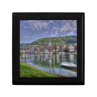 Stein on the River Rhine Keepsake Box