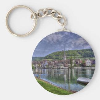 Stein on the River Rhine Key Chain