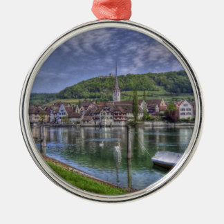 Stein on the River Rhine Christmas Ornament