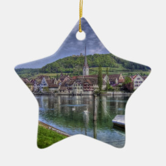 Stein on the River Rhine Ornaments