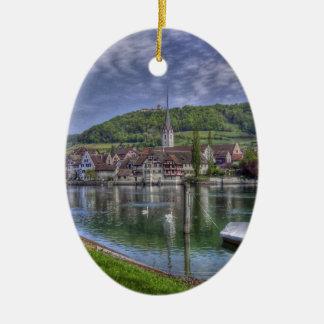 Stein on the River Rhine Ornament