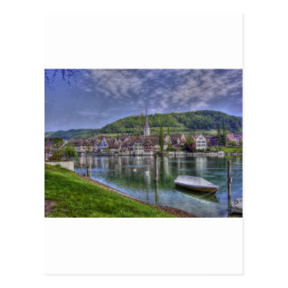 Stein on the River Rhine Post Cards