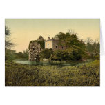 Stein, park of Worlitz, Anhalt, Germany classic Ph Greeting Card