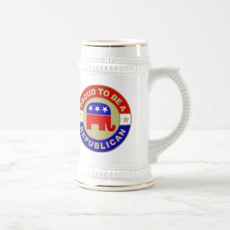 Stein republicano orgulloso taza