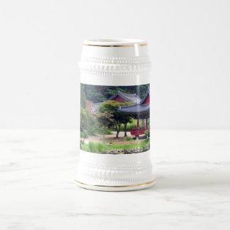 Stein sagrado del espacio jarra de cerveza