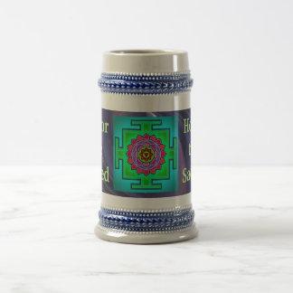 Stein sagrado taza de café