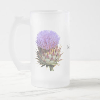 Stein - Thistle and name Coffee Mugs