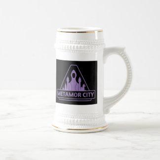 Stein valiente de la cerveza inglesa de Metamor Jarra De Cerveza