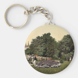 Steinbach Square and protestant church, Mulhausen, Keychains