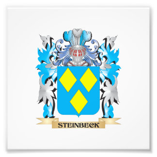 Steinbeck Coat of Arms - Family Crest Photo Print
