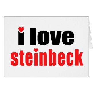 Steinbeck Tarjeta