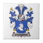 Steinberg Family Crest Ceramic Tile