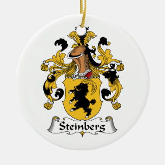 Steinberg Family Crest Ornaments