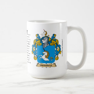Steinberg, the Origin, the Meaning and the Crest Coffee Mugs