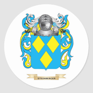 Steinberger Coat of Arms (Family Crest) Stickers