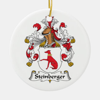 Steinberger Family Crest Ornaments