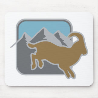 Steinbock Mouse Pad