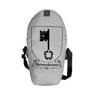 Steinenbrunn Family Crest Messenger Bags