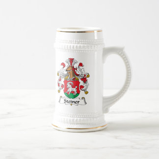 Steiner Family Crest Beer Stein