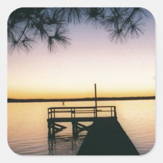 Steinhagen Reservoir Sunset Stickers