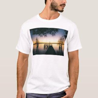 Steinhagen Reservoir Sunset T-Shirt