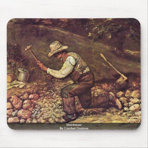 Steinhauer de Courbet Gustavo Alfombrilla De Ratón