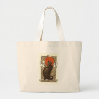 Steinlein's Cat - Art Nouveau Canvas Bag