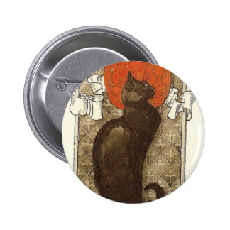 Steinlein's Cat - Art Nouveau Pin