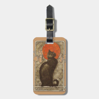 Steinlein's Cat - Art Nouveau Luggage Tags