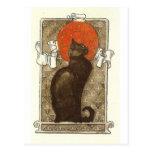Steinlein's Cat - Art Nouveau Postcard