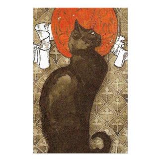 Steinlein's Cat - Art Nouveau Stationery