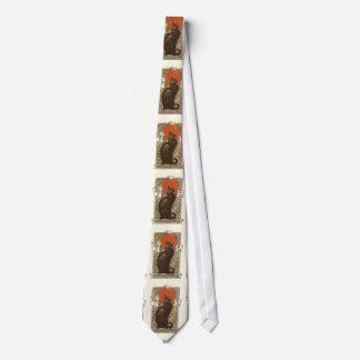 Steinlein's Cat - Vintage Art Nouveau Neck Ties