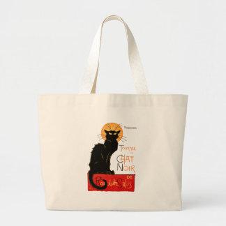 Steinlen Black Cat Jumbo Tote Bag