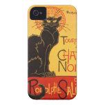 Steinlen: Charla Noir iPhone 4 Protectores