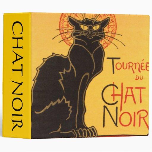Steinlen: Chat Noir Vinyl Binder