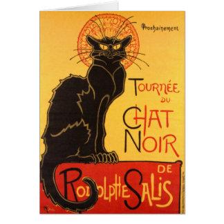 Steinlen: Chat Noir Card