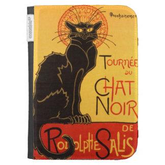 Steinlen Chat Noir Kindle Folio Cases
