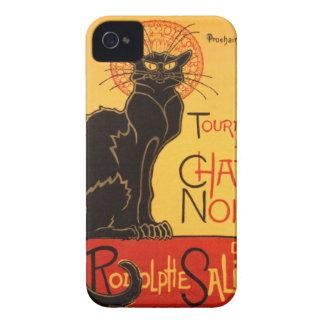Steinlen: Chat Noir Case-Mate iPhone 4 Cases