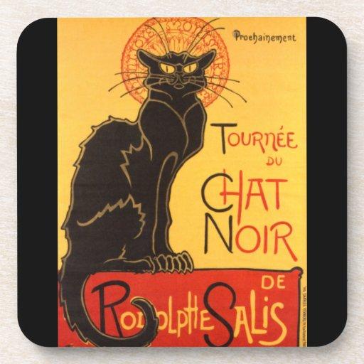 Steinlen: Chat Noir Coaster