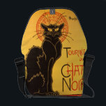 "Steinlen: Chat Noir Courier Bag<br><div class=""desc"">A beautiful classic Art Nouveau messenger bag featuring a poster art for the cabaret Le Chat Noir,  painted by the Swiss-born French Art Nouveau painter and printmaker Th&#233;ophile Alexandre Steinlen.</div>"