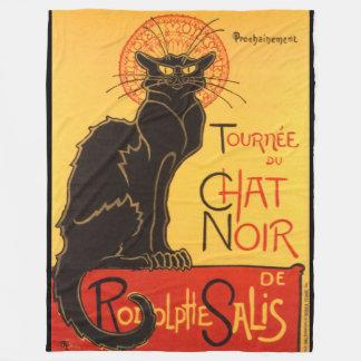 Steinlen: Chat Noir Fleece Blanket