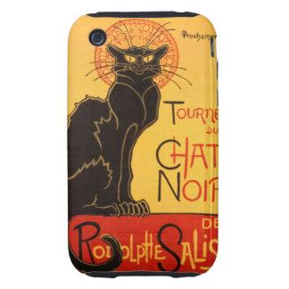 Steinlen: Chat Noir iPhone 3 Tough Case