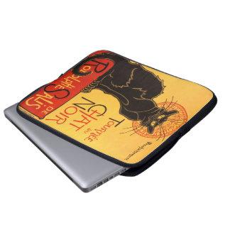 Steinlen: Chat Noir Laptop Computer Sleeves