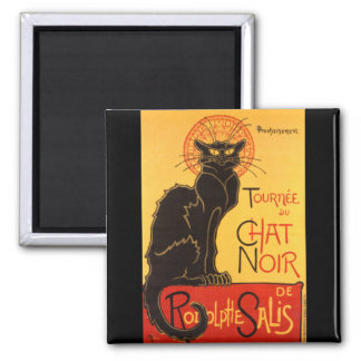 Steinlen: Chat Noir Refrigerator Magnet