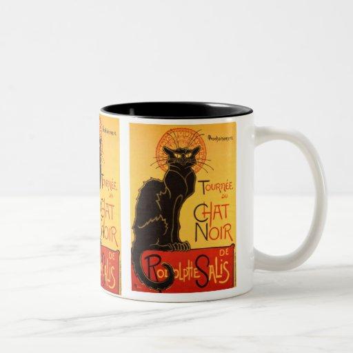Steinlen: Chat Noir Mugs