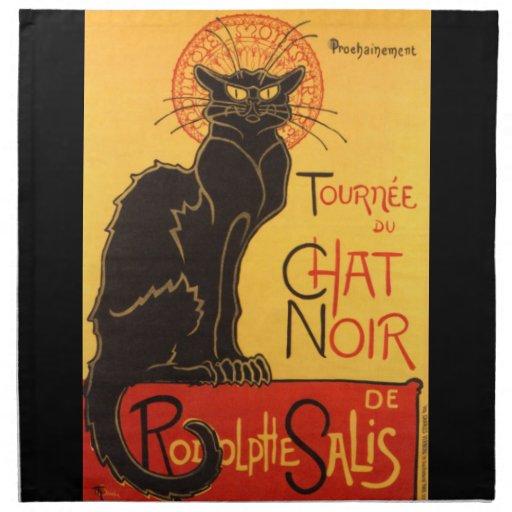 Steinlen: Chat Noir Napkins