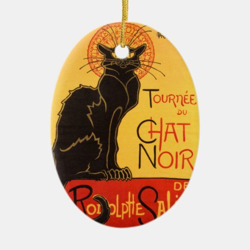 Steinlen: Chat Noir Ornament
