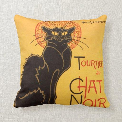 Steinlen: Chat Noir Pillows